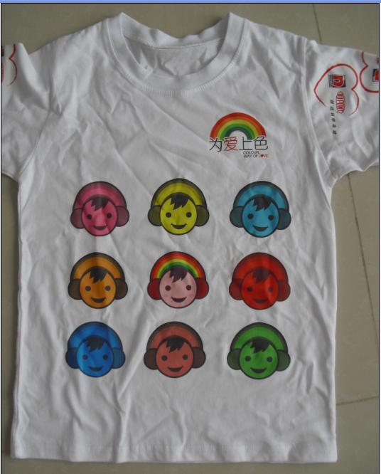 T恤加工POLO定做文化衫广告帽丝网印花热转印绣花
