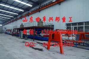 防火门珍珠岩芯板生产线成套自动化设备价格