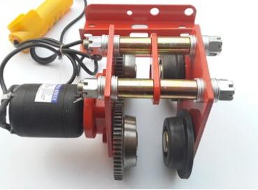 微型电动葫芦跑车、220V单轨小车、工字钢运行滑车