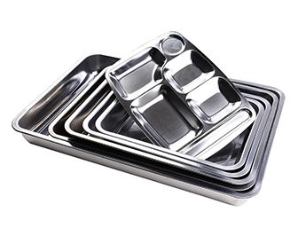 不锈钢快餐盘_不锈钢快餐盘价格_不锈钢快餐盘批发-天泽五金