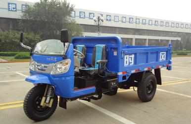 新款时风华庆自卸三轮农用车 乡下运输汽车 柴油三轮工程矿用车