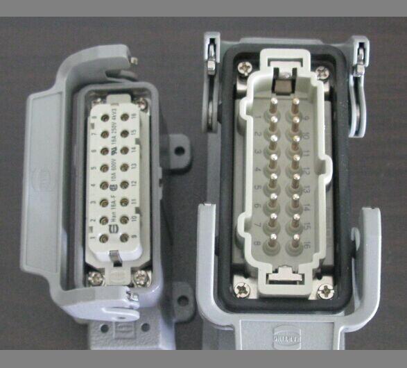 harting插头插座接头 哈丁工业连接器接线盒