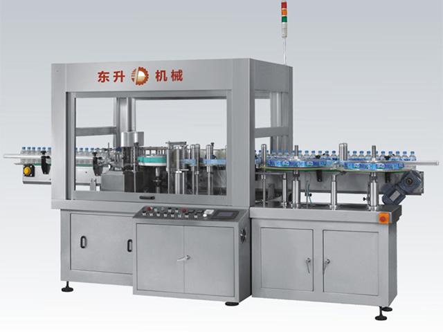 矿泉水贴标机厂家-自动圆瓶贴标机-潮州东升机械