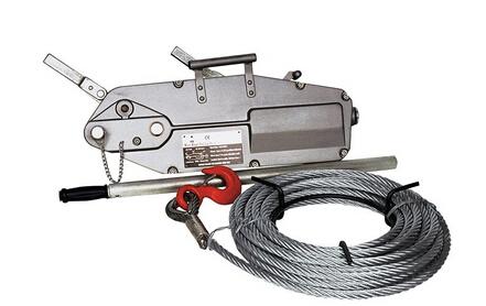 铝合金钢丝绳手扳葫芦紧固器牵引拉力器手板葫芦钢丝绳拉紧器
