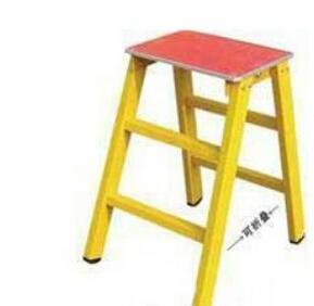 折叠百鼎绝缘高低凳/10kv可折叠式绝缘凳
