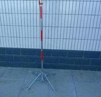 不锈钢伞式支架LG-S-26*1200mm 配围网 警示带都可以