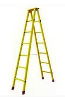 玻璃钢梯 石家庄绝缘梯 绝缘梯批发 电力公司人字梯