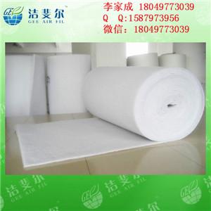 江苏省泰州市电子厂专用初效过滤棉5mm 10mm 20mm净化棉