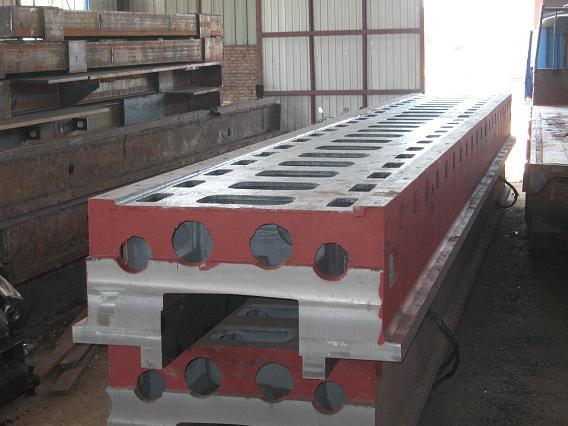 平衡机铸件采用消失模、树脂砂铸造工艺铸造