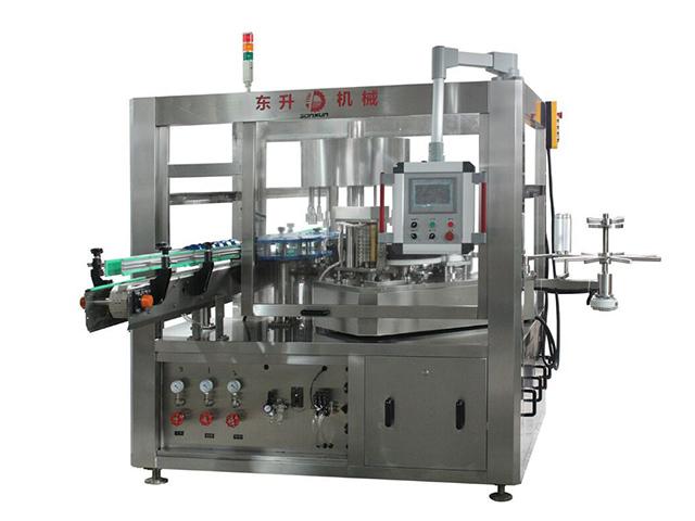 全自动高速贴标机-高速圆瓶贴标机厂家-广东潮州东升机械