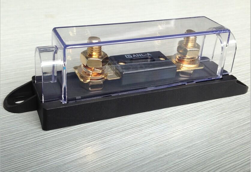 保险丝座 汽车保险丝座 ANS-500螺栓式保险盒
