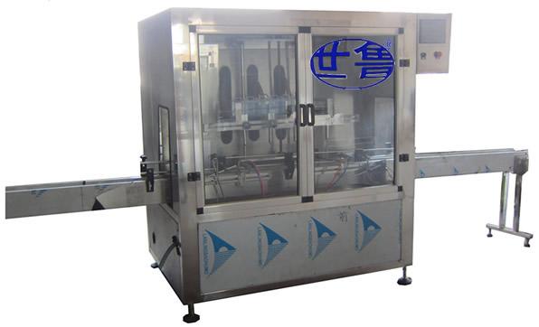购制动液自动灌装机-液压油分装机当然还是选世鲁机械