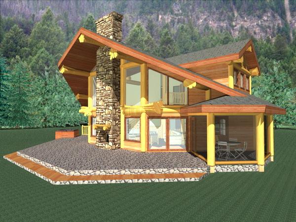 木屋 木结构 河北木屋 木屋公司