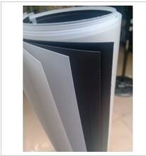 0.3-2mm/白色磨砂半透明PP塑料板材/0.5彩色磨砂PP片