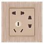 温州不锈钢面板墙壁开关、插座安装接线