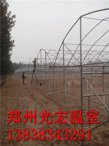 郑州连栋温室大棚骨架建设技术和材料