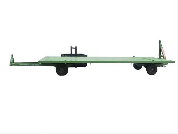 供应厂家直销中德重科平板拖车 牵引拖车 6吨平板拖车