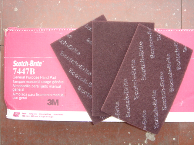 3M7447C工业百洁布,家具拉丝布,清洁布