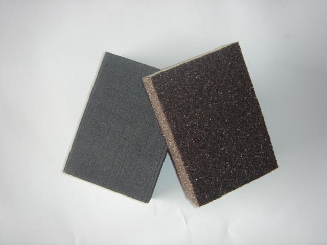 厂家直销优质海绵磨块,木工海绵砂块