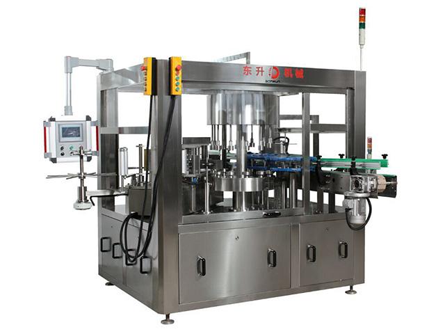 塑料玻璃瓶贴标机-全自动平面贴标机-广东东升机械