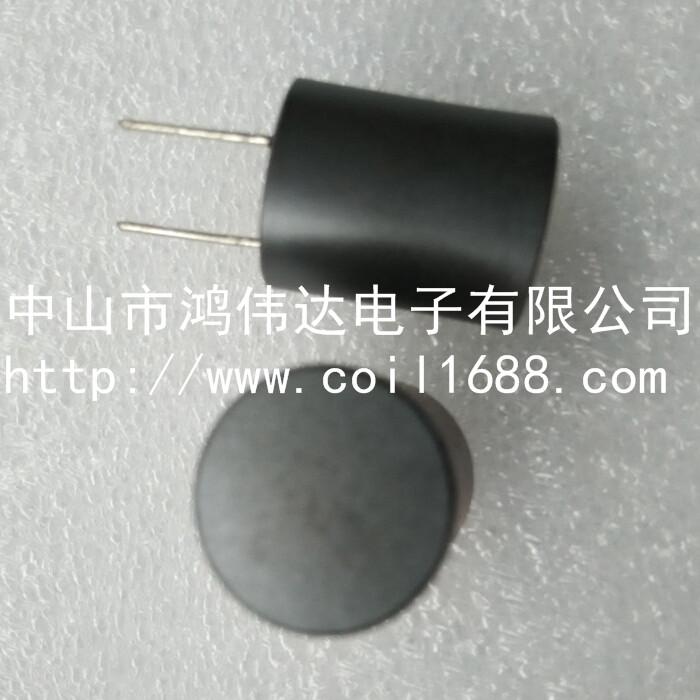 屏蔽工字电感PK1214-221M插件功率电感 磁罩工字电感
