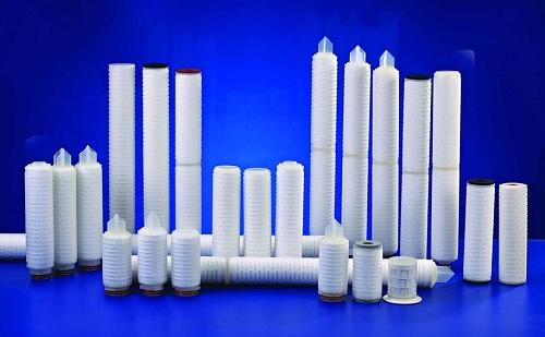 重庆水处理材料,重庆折叠滤芯系列产品,重庆微孔折叠滤芯现货批发