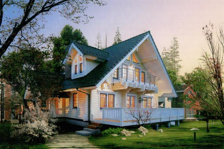 河北木屋别墅专业设计施工首选首佳木结构