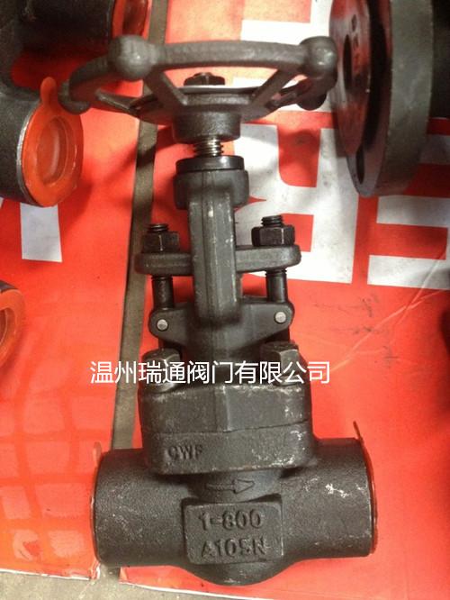 Z61Y-800LB锻钢承插焊闸阀