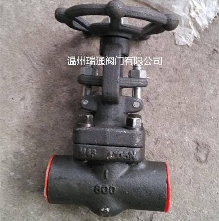 锻钢焊接截止阀800LB