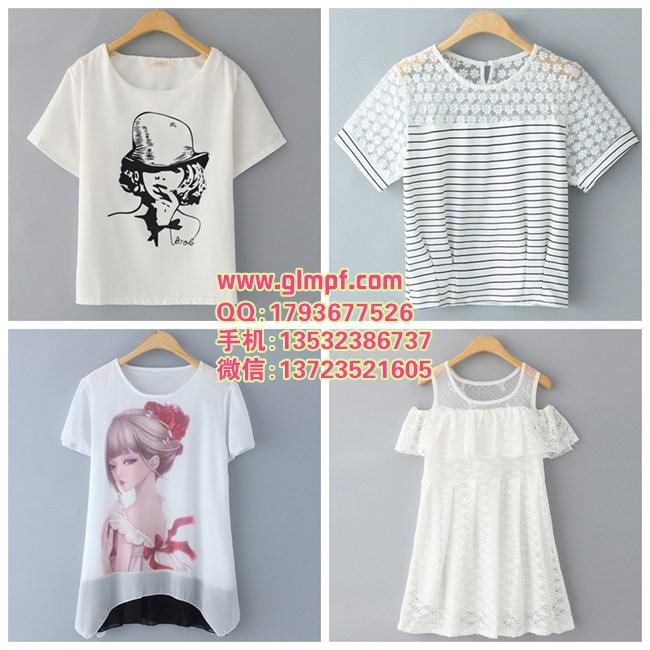 最便宜的雪纺衫货源十几元韩版潮流女装便宜低价批发厂家直销质量保证