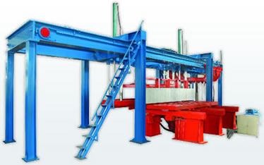 造成蒸压加气块设备生产线砌块空鼓和开裂的主要原因