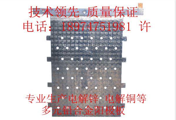 湖南 多元铅合金阳极 电解锌等行业