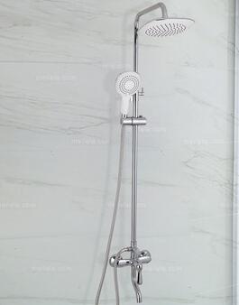 深圳淘美居时尚家居之洗浴家具系列顶喷时尚花洒套装