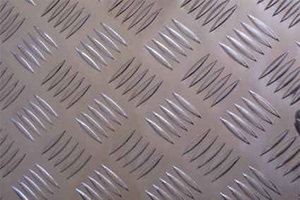 6061花纹铝板 小五筋防滑铝板