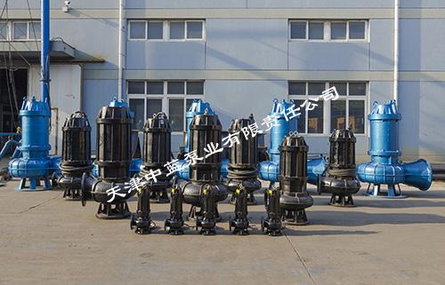 天津JYWQ搅匀泵配备耦合导轨自动搅匀泵