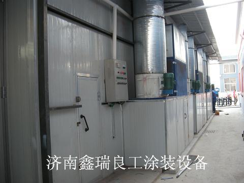 济南高温铁门烤漆房