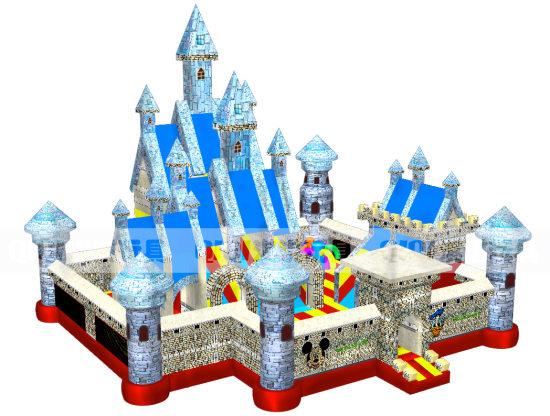 淇淇超级充气城堡娱乐城