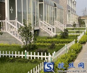 20×46mm型材白色pvc草坪护栏网1000平米起批