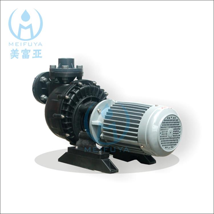 美富亚同轴自吸式耐酸碱泵MF-4022短颈泵浦