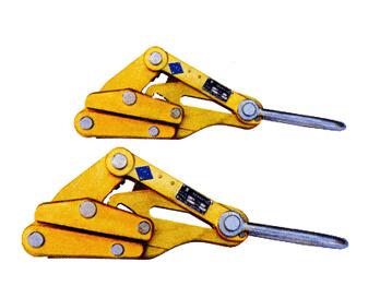 绝缘卡线器/导线紧线器/紧固器,铝合金绝缘卡线器
