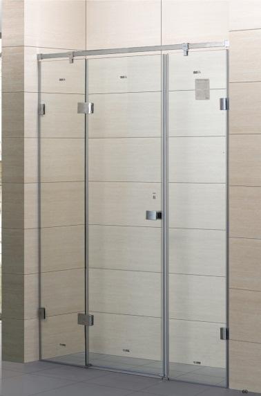 玻璃淋浴房 卫生间淋浴隔断装修 选南宁兆拓隔断商家