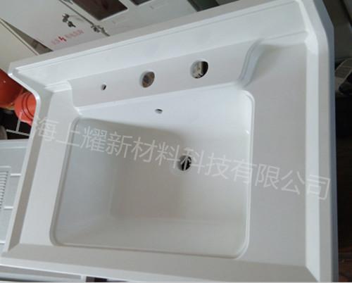 上海高光泽、耐污玻璃钢smc材料洗面盆
