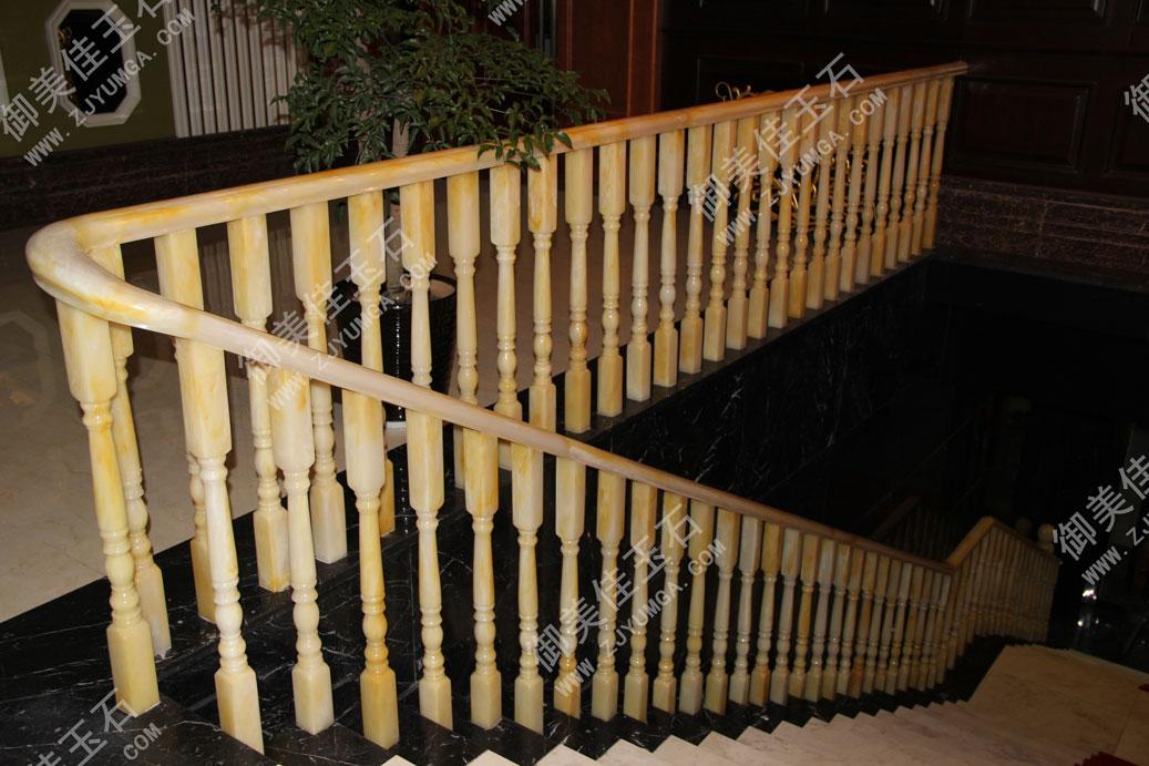 湖州御美佳玉石室内玉石楼梯