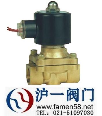 天津2W铜系列[大口径][常开型]两口两位直动式电磁阀规格型号【