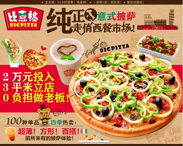 微萨手握披萨加盟费