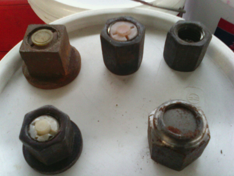 法兰阻尼螺母18六方 钻杆使用