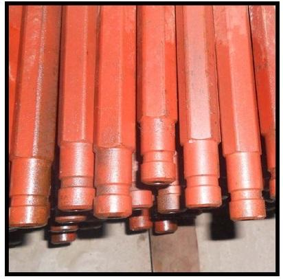 B19钻杆锚杆矿用支护钻杆可使用连接套连接