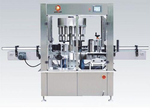 贴标签机械-全自动不干胶贴标机厂家-东升机械
