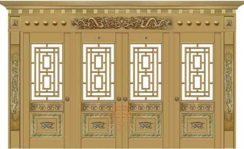 深圳厂家直销别墅玻璃铜门、防盗门等