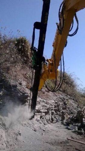 挖机改装潜孔钻机品牌价格一机多用
